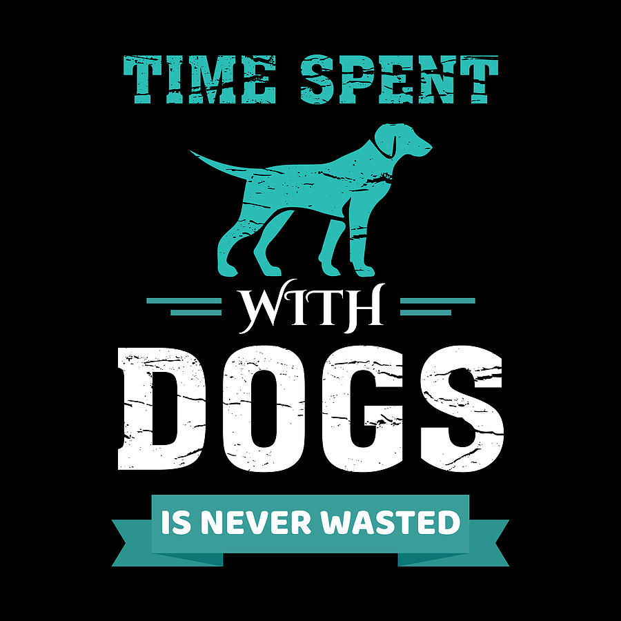 time spent with dogs © bigstockphoto.com / ajgortee